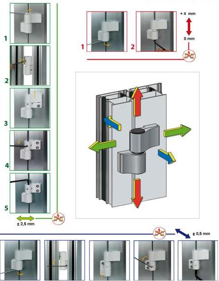 Как установить алюминиевую дверь своими руками