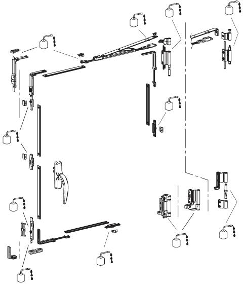 Схема смазки и обслуживания